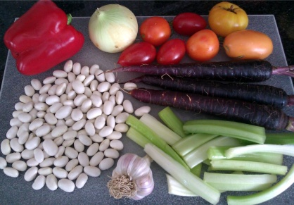 Mortgage Lifter Bean Soup Ingredients