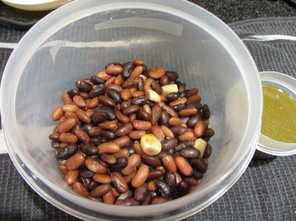 Rio Zape and Spanish Tolosna Beans - Bean Liquid to be used for Stock